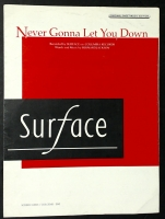 Never Gonna Let You Down, Performed by Surface