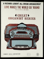 Love Makes The World Go Round Richard Leibert All Organ 1961