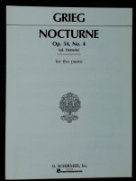 Nocturne Op 54 No 4 Grieg (ed Oesterle) 1926