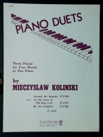 At The Court Of Old King Cole 1 Piano 4 Hands Kolinski 1954