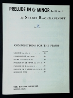 Prelude In G# Minor Op 32 No 12, Rachmaninoff
