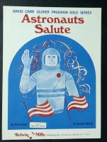 Astronauts Salute, Stephen Birch. David Carr Glover Series 1968