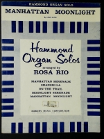 Manhattan Moonlight Hammond Organ Solo Rosa Rio 1958