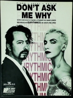 Don't Ask Me Why, Eurythmics Piano Vocal Guitar 1989
