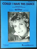 Could I Have This Dance Anne Murray. Piano Vocal Guitar 1980