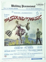 The Sound Of Music Wedding Processional All Organ 1965