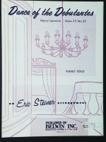 Dance Of The Debutantes Lemoine. Eric Steiner Piano Solo 1962