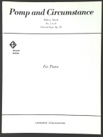 Pomp and Circumstance Military March Piano 1962