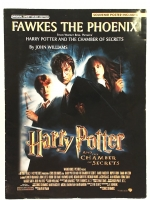 Fawkes The Phoenix, Harry Potter. With Poster