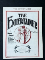 The Entertainer by Scott Joplin Rag Time Two Step 1972