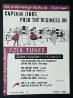 Captain Jinks Push The Business On, 2 Pianos 8 Hands 1964