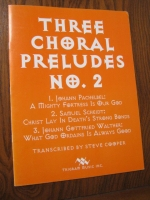 Three Choral Preludes No. 2, Trigram Music 1994