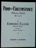 Pomp & Circumstance Military March No 1 in D. Edward Elgar 1930