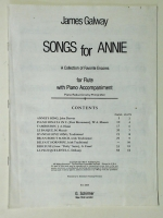 Songs For Annie, James Galway (Flute Part Only). 1974