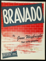 Bravado Piano Solo June Weybright 1953