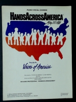 Hands Across America by Voices Of America 1986