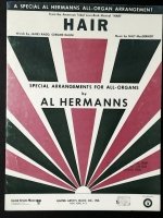Hair Musical Al Hermann All Organ Arrangement 1969