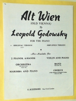 Alt Wien (Old Vienna) Leopold Godowsky Original Version 1949