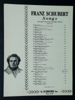 Thou Art Repose Du Bist Die Ruh High Eb Schubert 1929