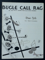 "Bugle Call Rag Piano Solo ""Fats"" Waller's Conception 1950"