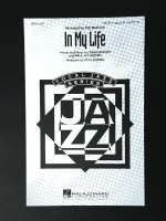 In My Life Vocal Jazz Series SATB A Cappella Lennon / McCartney