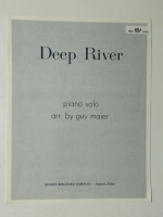 Deep River Piano Solo Arr by Guy Maier 1942
