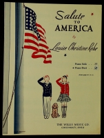 Salute To America Duet by Louise Christine Rebe 1944