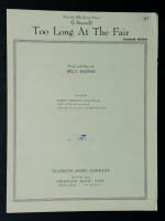 Too Long At The Fair, Billy Barnes Review 1957