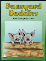 Barnyard Buddies Solo by Kevin Costly. Schaum Level 3 2001