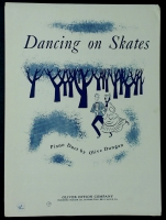 Dancing On Skates, Piano Duet by Olive Dungan 1955