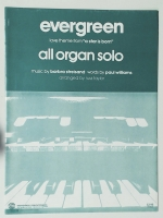 Evergreen From A Star Is Born Organ Solo 1977