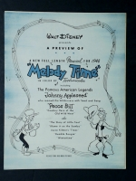 Disney Melody Time Johnny Appleseed & Pecos Bill 1947