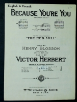 Because You're You in G From The Red Mill 1950