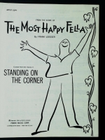 The Most Happy Fella Act 1 Scene 1. Artist Copy 1956