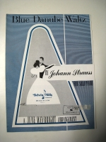 Blue Danube Waltz by Johann Strauss Weybright 1958