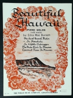 In Honolulu (Beautiful Hawaii) Edna Mae Burnam Solo 1962
