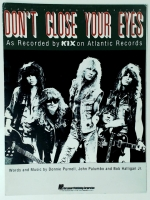 Don't Close Your Eyes by Kix Piano Vocal Guitar 1988