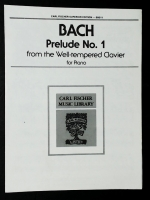 Prelude No 1 From Well Tempered Clavier Bach 1983