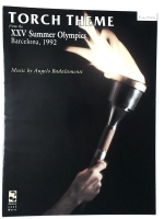 Torch Theme Easy Piano Summer Olympics 1992