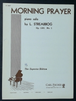 Morning Prayer Solo OP 130 No 1 by L Streabbog