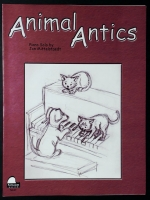 Animal Antics Piano Solo, Jan Mittelstaedt. Schaum 2002