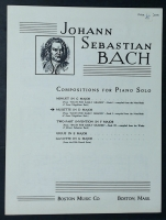 Musette In D Major, Bach For Early Grades Book 1.