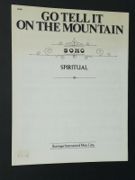 Go Tell It On The Mountain Spiritual 1975