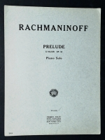 Prelude E Major Op 32 Solo, Rachmaninoff