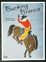 Bucking Bronco Piano Solo, Stanford King. Schaum Level 3