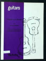 Guitars Piano Solo by David Carr Glover Library 1969