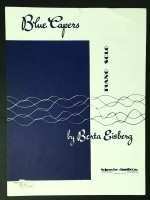 Blue Capers Piano Solo by Berta Eisberg 1959