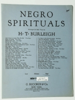 Negro Spirituals Steal Away High Voice