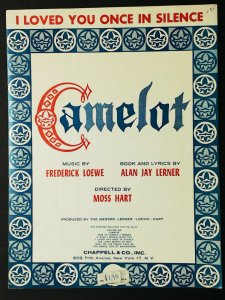 I Loved You Once In Silence from Camelot 1960