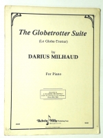 The Globetrotter Suite by Darius Milhaud For Piano 1958 28 Pages